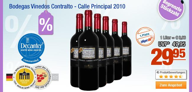 Bodegas Vinedos                                             Contralto - Calle Principal                                             2010