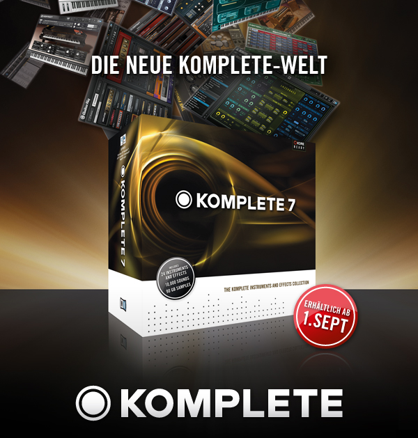 Native Instruments Komplete 7
