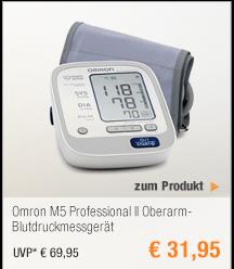 Omron M5 Professional                                             II                                             Oberarm-Blutdruckmessgerät