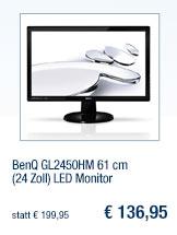 BenQ GL2450HM 61 cm (24                                             Zoll) LED Monitor