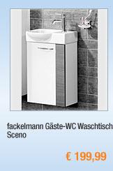fackelmann Gäste-WC                                             Waschtisch Sceno