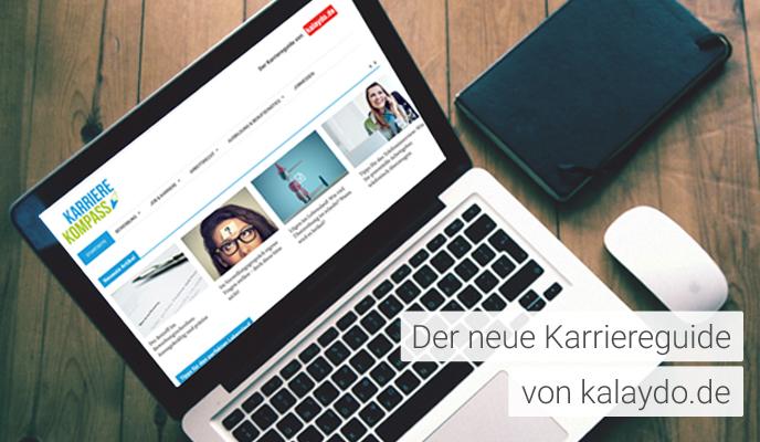Karrierekompass - neuer Karriereguide von kalaydo.de