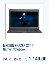 MEDION ERAZER X7611