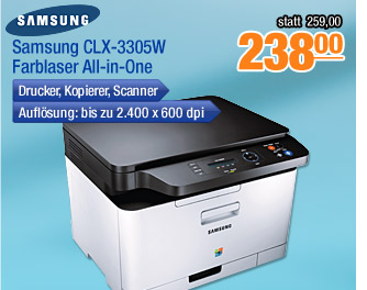 Samsung CLX-3305W                                             Farblaser All-in-One