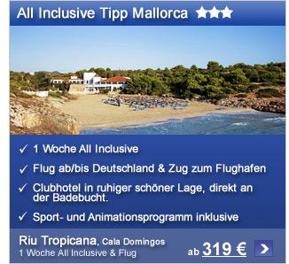 Mallorca ab €319