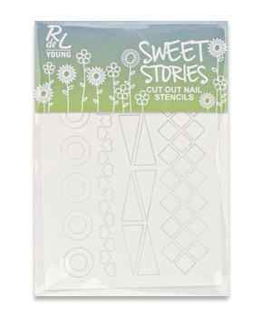"RdeL Young ""Sweet Stories"" Cut Out Stencils"