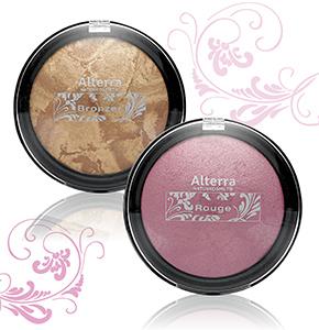 """Alterra """"Herzstücke"""" Rouge + Bronzer"""
