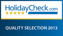 HolidayCheck Quality Selection 2013 Logo