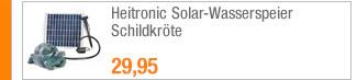 Heitronic                                             Solar-Wasserspeier                                             Schildkröte