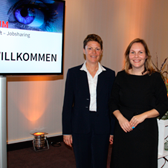 Christine Stutenbäumer und Anja Thiemann
