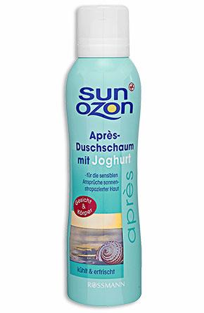 Sunozon Après-Duschschaum mit Joghurt