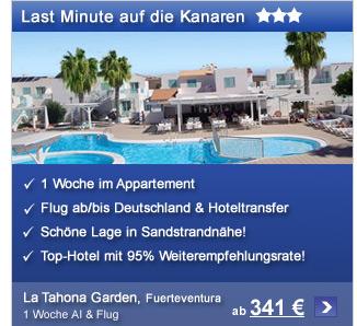 LM Fuerteventura: La                                             Tahona Garden ab 335€