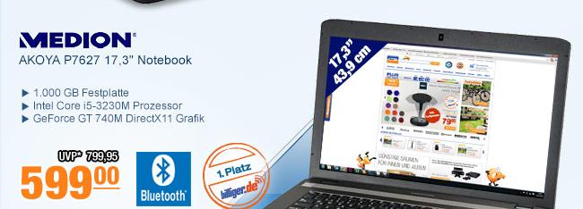 "MEDION AKOYA P7627                                             17,3"" Notebook"