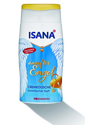 Isana Cremedusche sanfter Engel