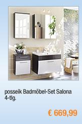 posseik Badmöbel-Set                                             Salona, 4-tlg.