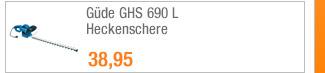 Güde GHS 690 L                                             Heckenschere