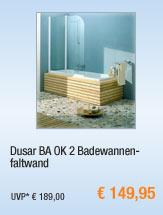 Dusar BA OK 2                                             Badewannenfaltwand