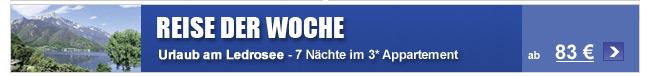 Reise der Woche -                                             Residence Palafitte ab 83 €