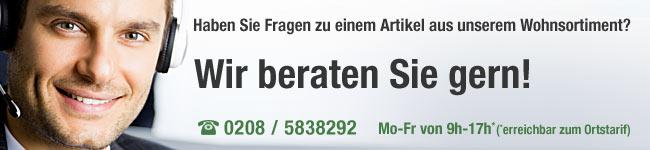 Service Hotline aus dem                                             Sortiment Wohnen
