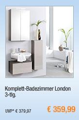 Komplett-Badezimmer                                             London, 3-tlg.