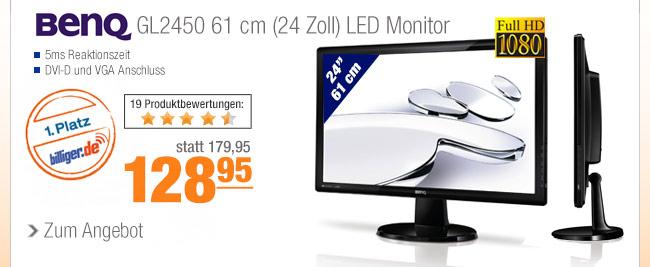 BenQ GL2450 61 cm (24                                             Zoll) LED Monitor