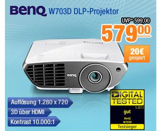 BenQ W703D                                             DLP-Projektor