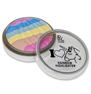 "RdeL Young ""I love unicorn"" Rainbow Highlighter"