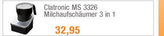Clatronic MS 3326                                             Milchaufschäumer 3 in 1