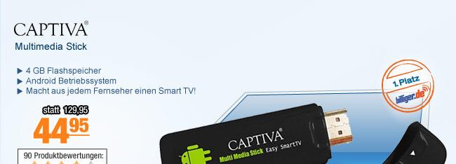 Captiva Multimedia                                             Stick