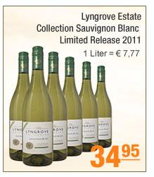 Lyngrove Estate -                                             Collection Sauvignon Blanc                                             Limited Release 2011