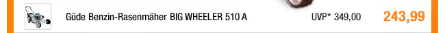 Güde Benzin-Rasenmäher                                             BIG WHEELER 510 A
