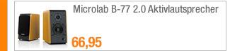 Microlab B-77 2.0                                             Aktivlautsprecher