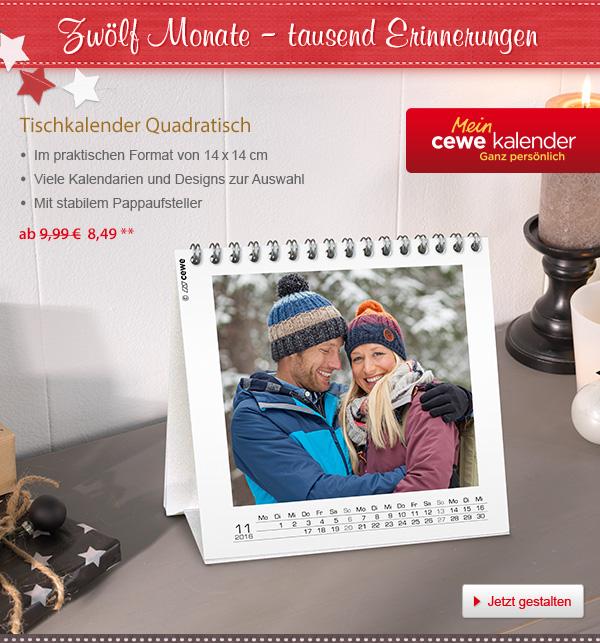 Bestellen Sie Ihren                                             Tischkalender