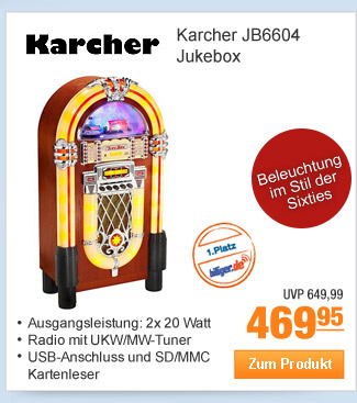 Karcher JB6604 Jukebox