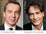 ZEIT-Gespräch: Giovanni di Lorenzo trifft Bundeskanzler Christian Kern