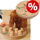 21% DI SCONTO! - Cuccia Sylvan Comfort con doppia ciotola >>