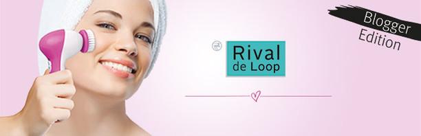 Rival de Loop Gesichtsreinigungsbürste Blogger Edition