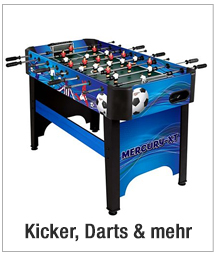 Kicker, Darts &                                             mehr