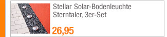Stellar                                             Solar-Bodenleuchte                                             Sterntaler, 3er-Set