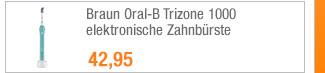 Braun Oral-B Trizone                                             1000 elektronische                                             Zahnbürste