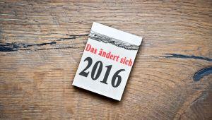 Das ändert sich 2016 für Hausbesitzer