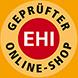 bhv-Auszeichnung für                                             den Plus Online Shop
