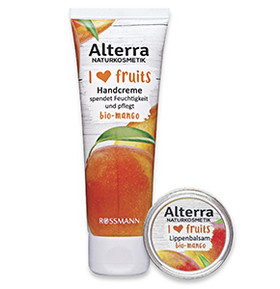 "Alterra ""I ❤ fruits"" mit Bio-Mango"