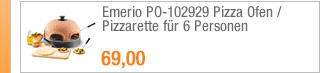 Emerio PO-102929 Pizza