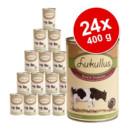 PREZZO TOP! - Lukullus cibo umido completo (24 x 400 g) >>