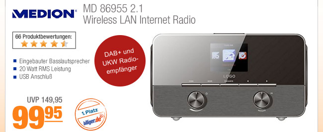 Medio MD 86955 2.1