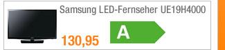 Samsung LED-Fernseher                                             UE19H4000
