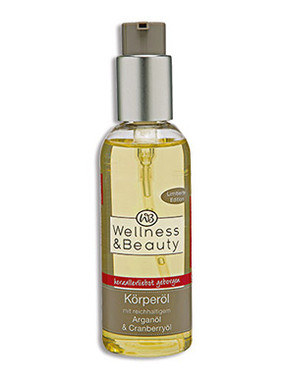 Wellness & Beauty Körperöl Arganöl & Cranberryöl