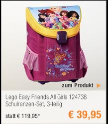 Lego Easy Friends All                                             Girls 124738                                             Schulranzen-Set, 3-teilig