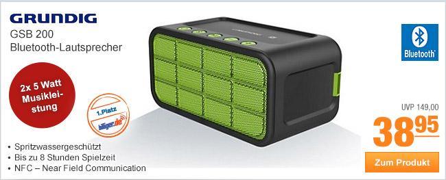 Grundig GSB 200                                             Bluetooth-Lautsprecher